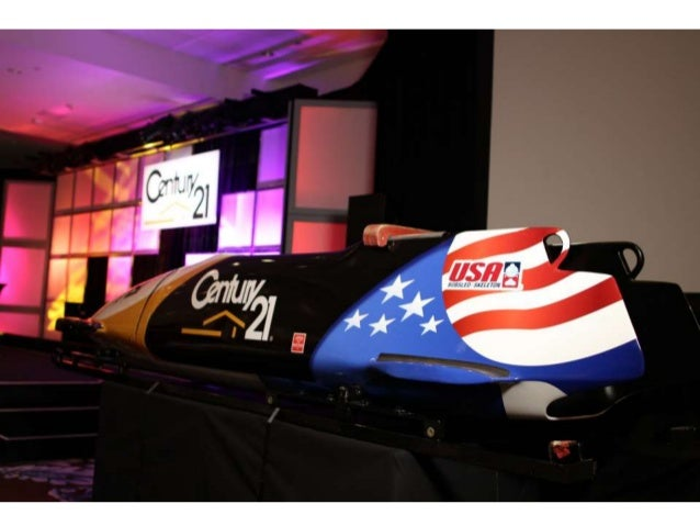 CENTURY 21® Speeds Up Its Marketing with USA Bobsled