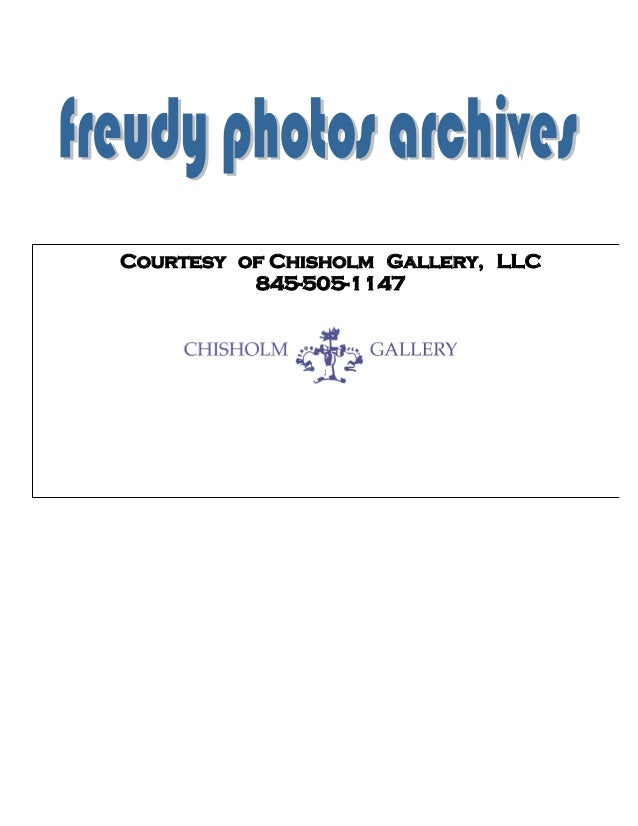 Courtesy of Chisholm Gallery, LLC 845-505-1147