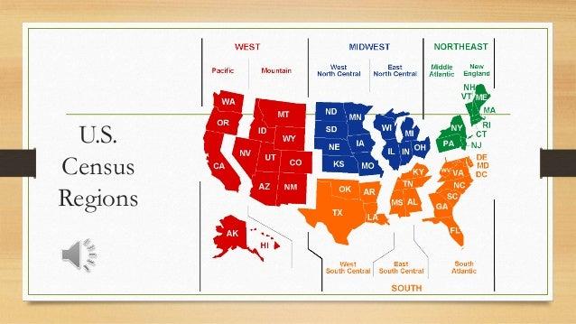 US Regions Western States - West us region map
