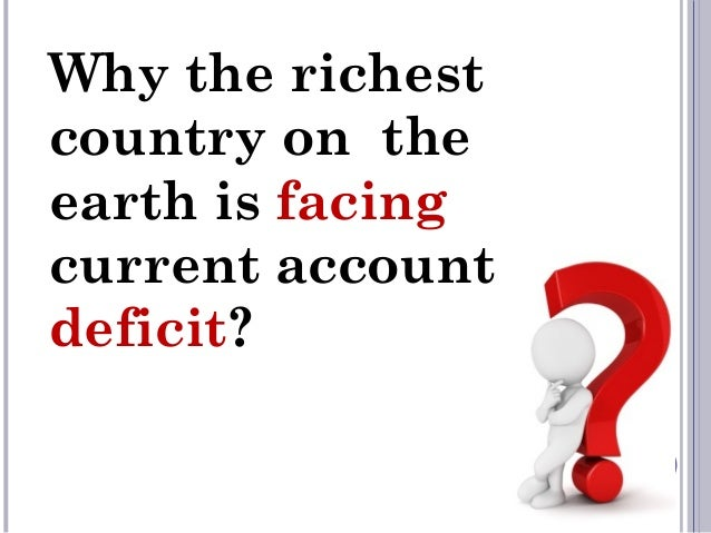 the u s current account deficit case These facts and fears of the us current account deficit, economists ask   however, in the reversal case the maximum ca deficit is almost twice as large as  in the.