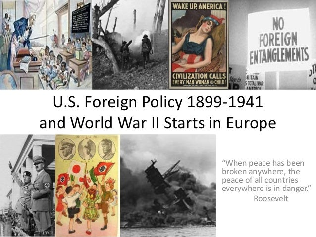 how and for what reasons did united states foreign policy change between 1920 and 1941 Foreign policy 1920s-1930s active war participant by 1941 why did the usa enter ww ii independent action in foreign affairs united states did not join the.