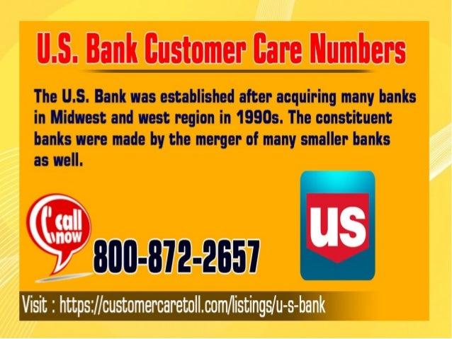 U.S. Bank Customer Care Numbers