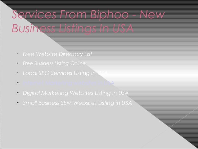 U S  Business Directory