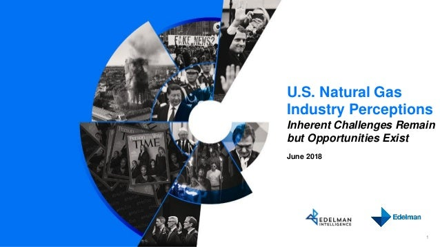 U.S. Natural Gas Industry Perceptions Inherent Challenges Remain but Opportunities Exist June 2018 1