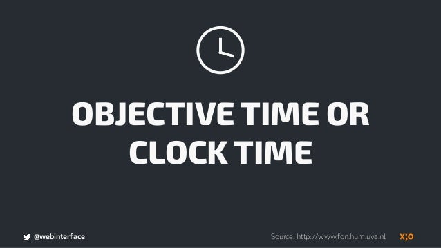 @webinterface PSYCHOLOGICAL TIME OR BRAIN TIME