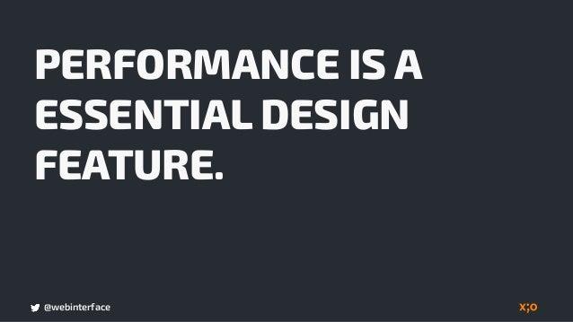 @webinterface PERFORMANCE BUILDSALES CONCEPT/DESIGN ROLL-OUTSTRATEGY