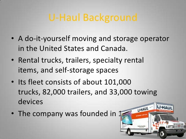 U-Haul Digital Marketing Plan