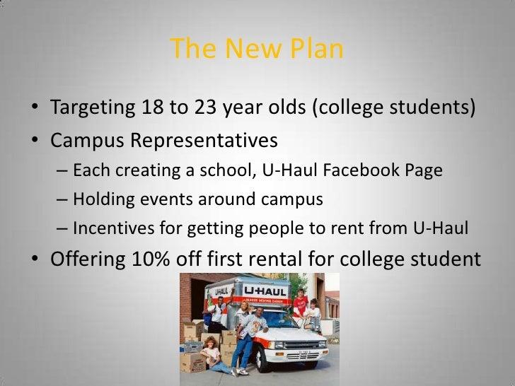 U-Haul Digital Marketing Plan