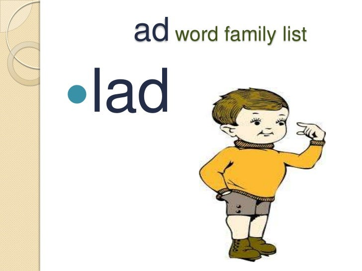 word with ad