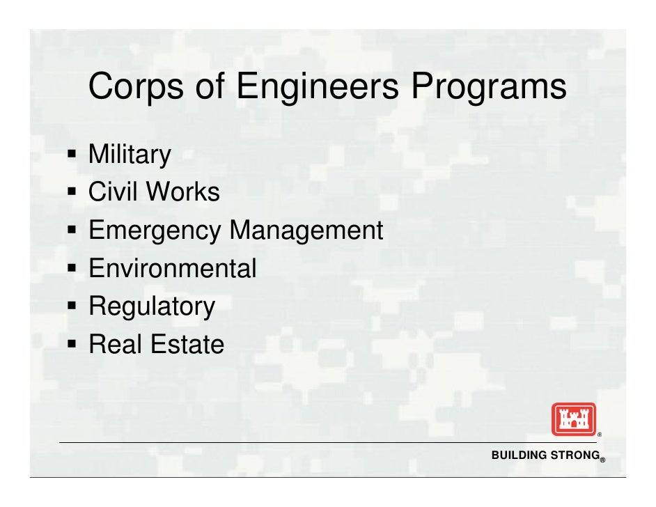 how to join army corps of engineers