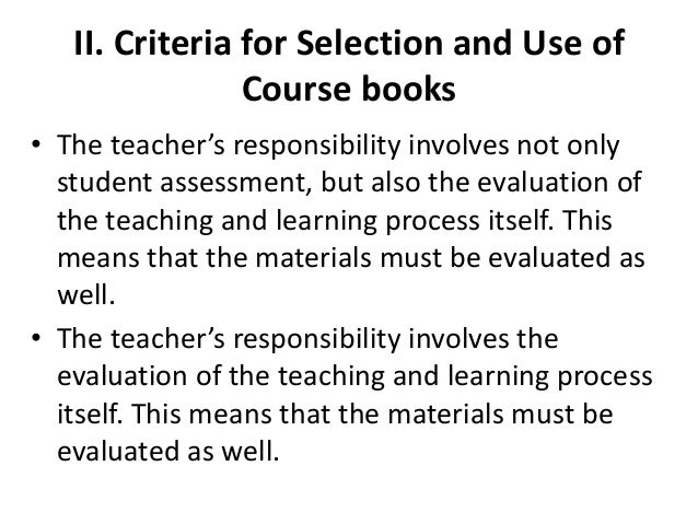 Evaluating And Selecting Efl Teaching Materials Pdf Hopestaff