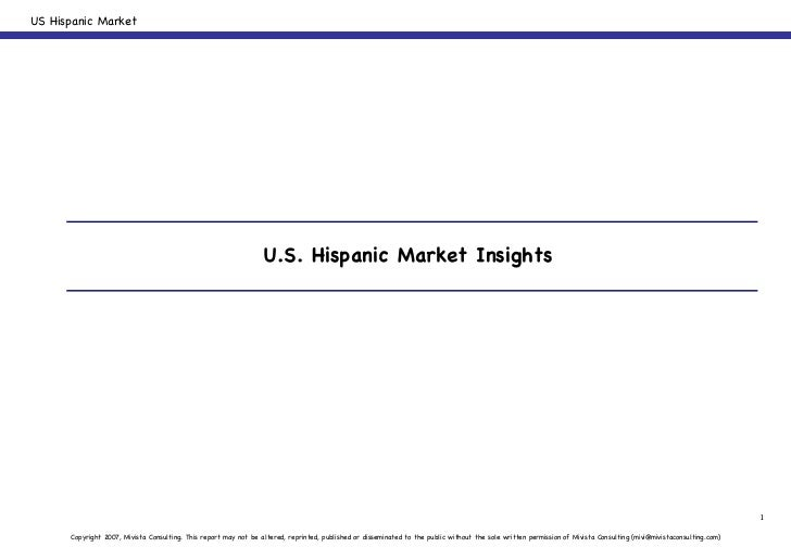U.S. Hispanic Market Insights