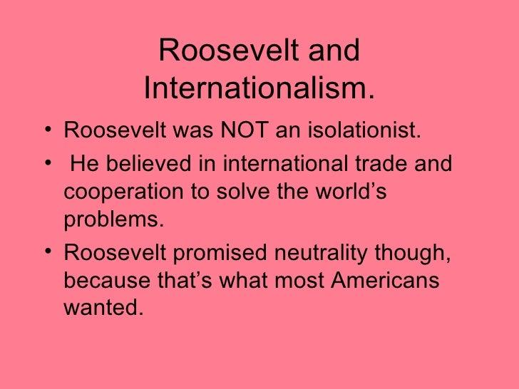 49f. Roosevelt's Critics