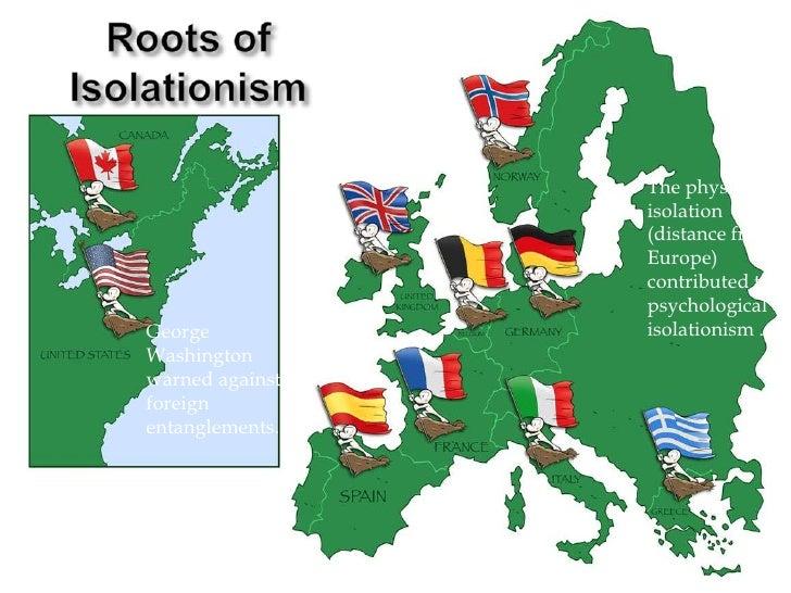 US Isolation - Us map isolation