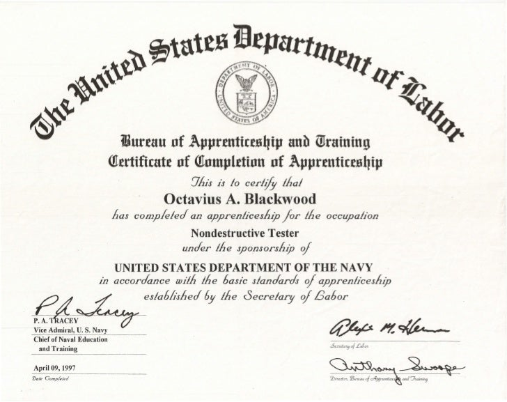 Us department of defense ndi equivalency letter us navy certifi 11 86 3 yadclub Images