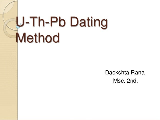 u dating