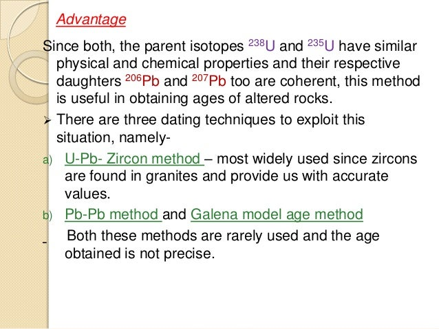 pb loss in upb dating [14] in high 238 u/ 204 pb systems, common initial pb can be subtracted, and an age can be obtained from the 206 pb/ 238 u and 207 pb/ 235 u (where the asterisks denote radiogenic pb), the approach used for u-pb zircon dating.