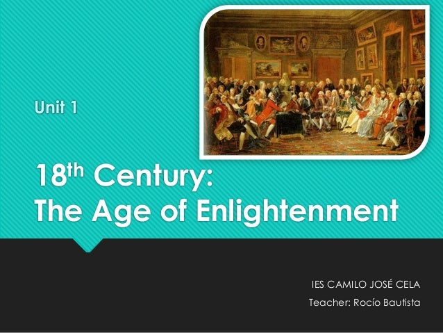 what caused the enlightenment