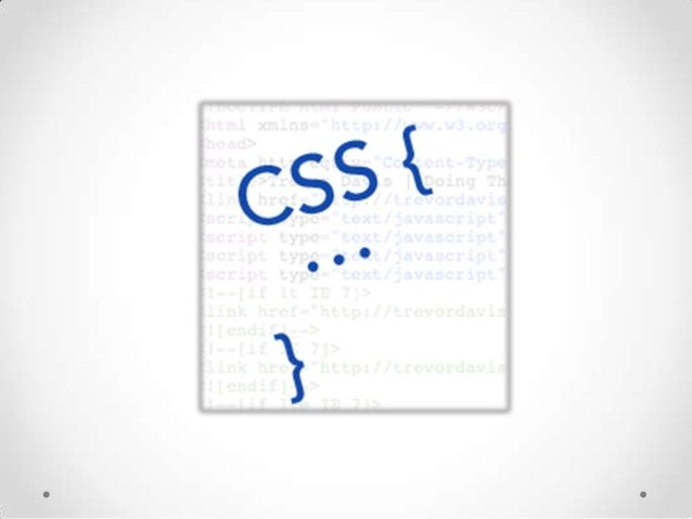 CSS(Cascading Style Sheet) • • •