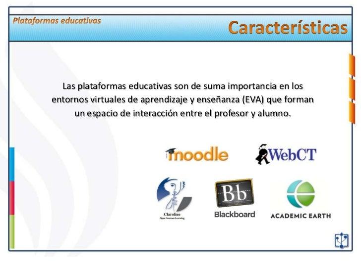 Plataformas educativas caracter sticas y ejemplos for Caracteristicas de la oficina wikipedia