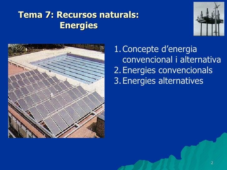 U10 Ct2 0910(Recurs Energias) Slide 2