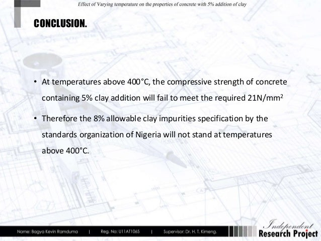 The effect of varying temperatures on