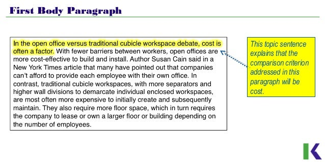 analyzing compare and contrast essays workspace design 7