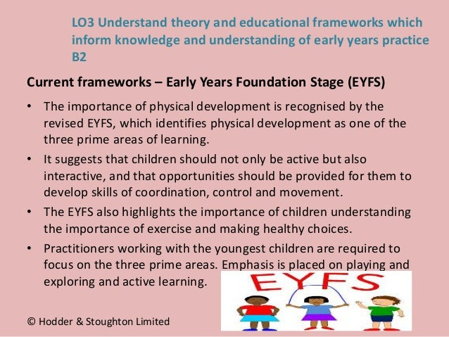 • The importance of physical development is recognised by the revised EYFS, which identifies physical development as one o...