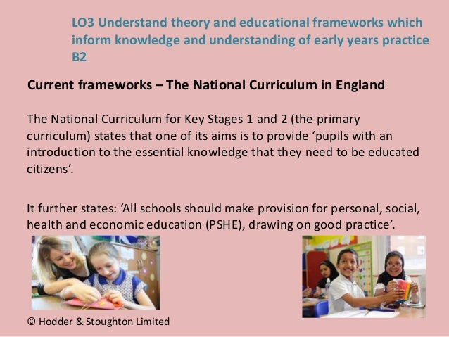 The National Curriculum for Key Stages 1 and 2 (the primary curriculum) states that one of its aims is to provide 'pupils ...