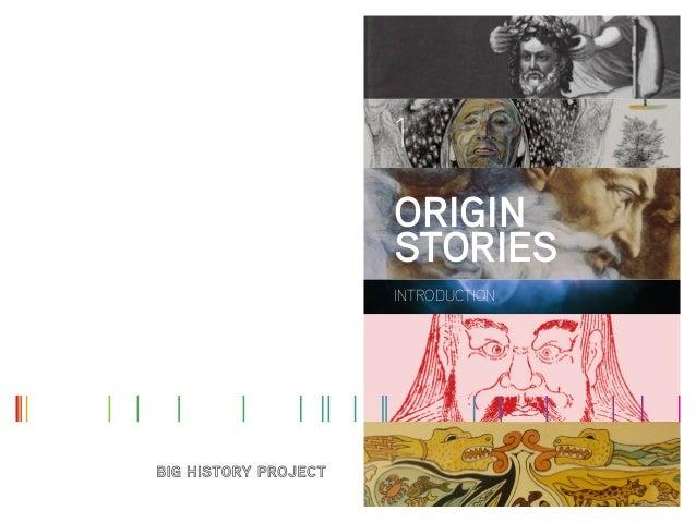 1 ORIGIN STORIES INTRODUCTION
