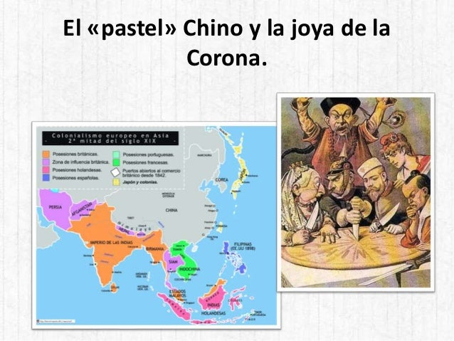 El «pastel» Chino y la joya de la Corona.