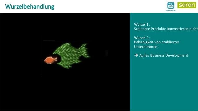 Wurzelbehandlung - Geschäftsmodellentwicklung als Konversionsaufgabe. Agiles Business Development bei der Telekom am Beispiel von Mall2Go. Slide 2