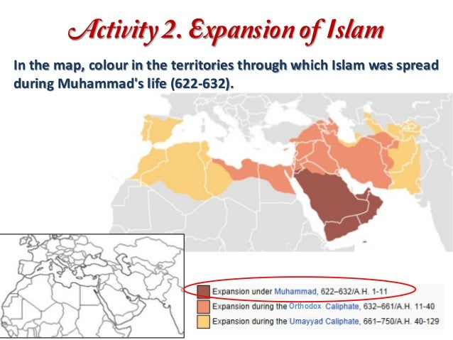 islam and its expansion Lecture on islam in north africa its economy was booming thanks to the were more interested in eastern expansion, so the spread of islam in africa.