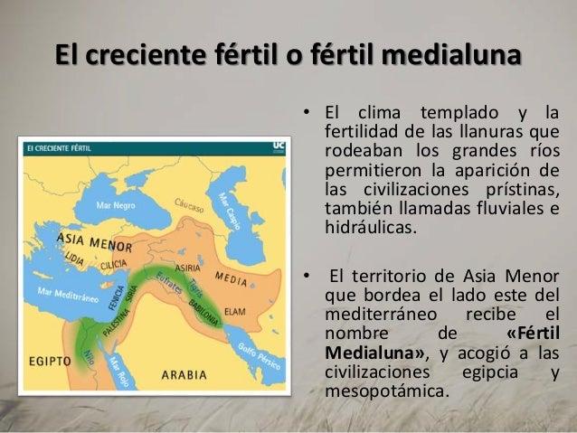 Mapa De Oriente Medio El Creciente Fertil.U2 Mesopotamia Egipto