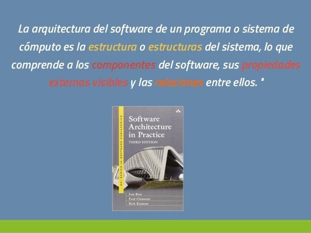 Principios De Dise O De La Arquitectura Del Software