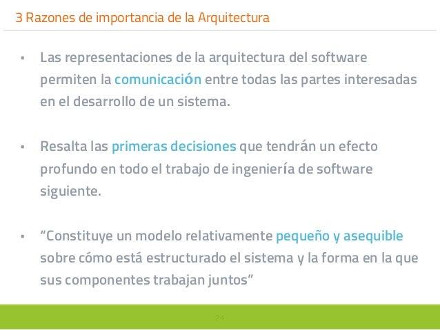 Principios de dise o de la arquitectura del software for Software para arquitectura
