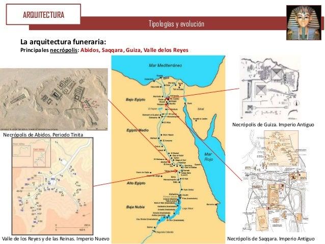 ARQUITECTURA                                                         Tipologías y evolución        La arquitectura funerar...