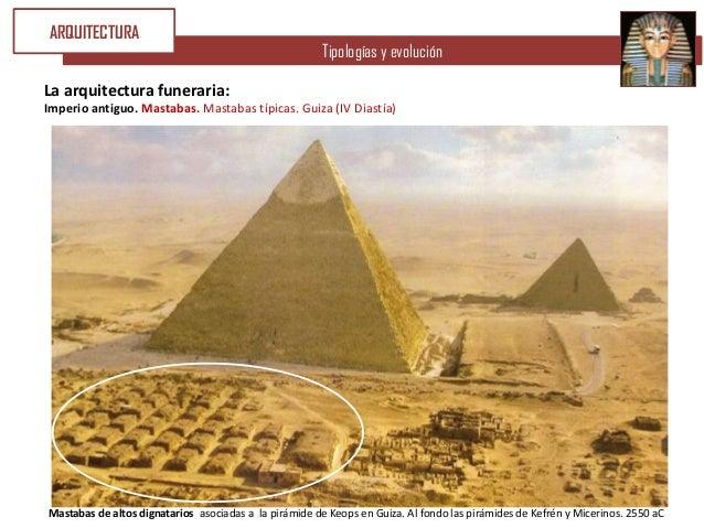 U3 arte egipcio iii arquitectura funeraria for Arquitectura funeraria