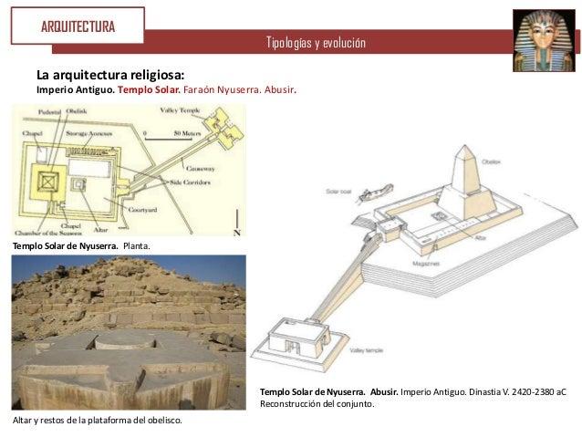 ARQUITECTURA                                                      Tipologías y evolución      La arquitectura religiosa:  ...