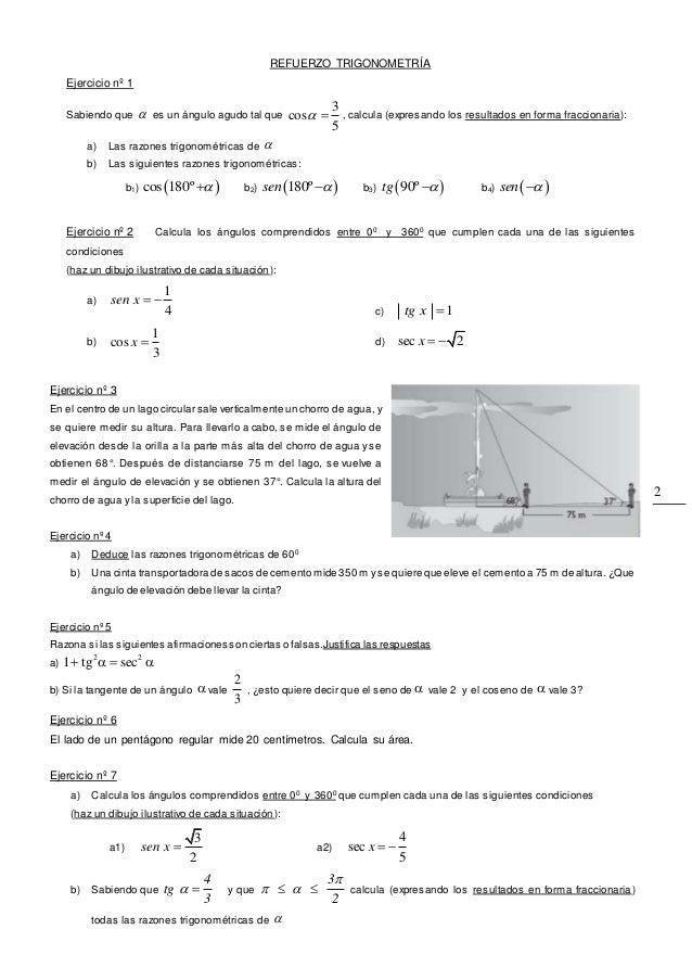 U3 refuerzo trigo4ºeso Slide 2