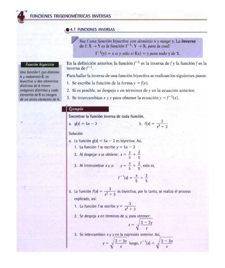 Trigonometría U # 3  t # 4