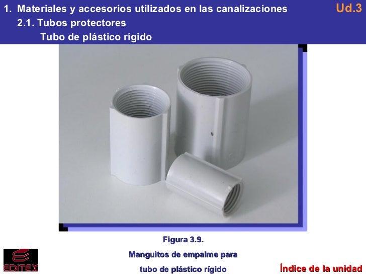 U3 canalizaciones y conducciones el ctricas - Tubo plastico rigido ...