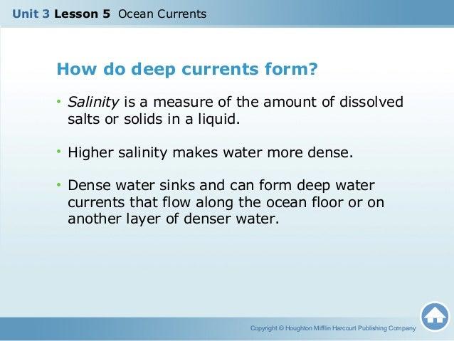 U3L5 - Ocean Currents