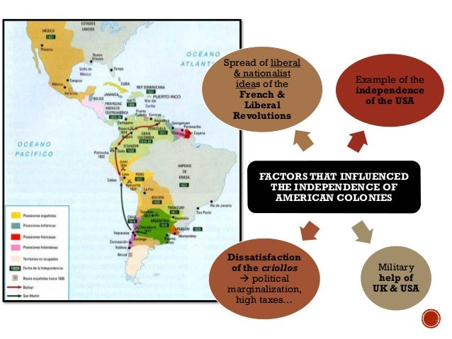 instability of the spanish colonies During that time, the spanish established missions, forts, and settlements  this  was a time of instability and turmoil as spain struggled to keep florida and fend.