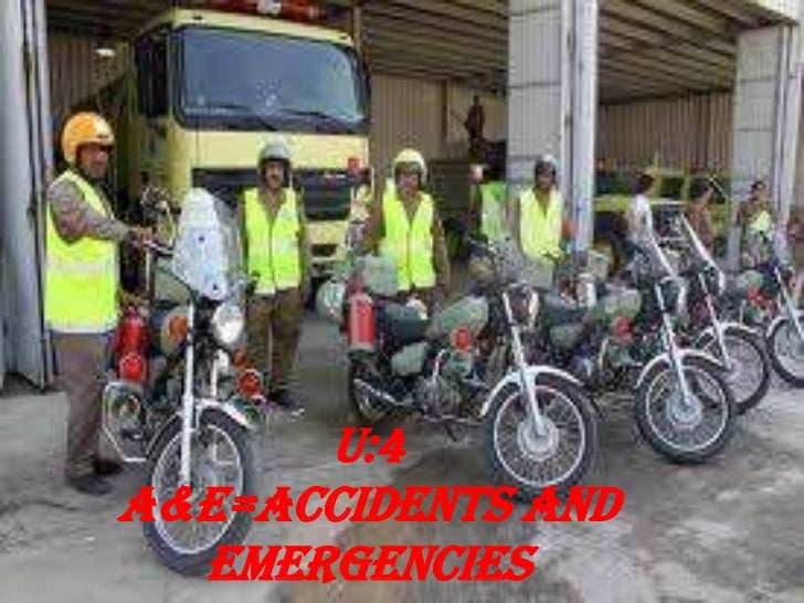 U:4A&E=Accidents and emergencies<br />