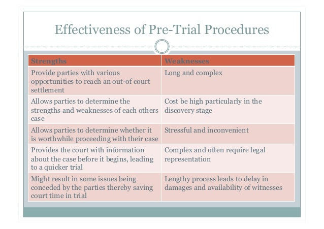 effectiveness of the criminal trial process The criminal investigation process is a complex aspect of the legal system that aims to gather evidence lawfully, justly and in the accordance with the rights of the victims, accused and societythe criminal investigation process encapsulates the powers of police to detain suspects, gather evidence, interrogate and to search and seize property, through the appropriate use of warrants and other.