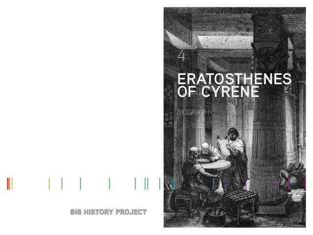 4 ERATOSTHENES OF CYRENE BIOGRAPHY