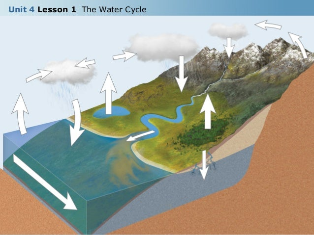 Unit 4 Lesson 1 The Water Cycle 13