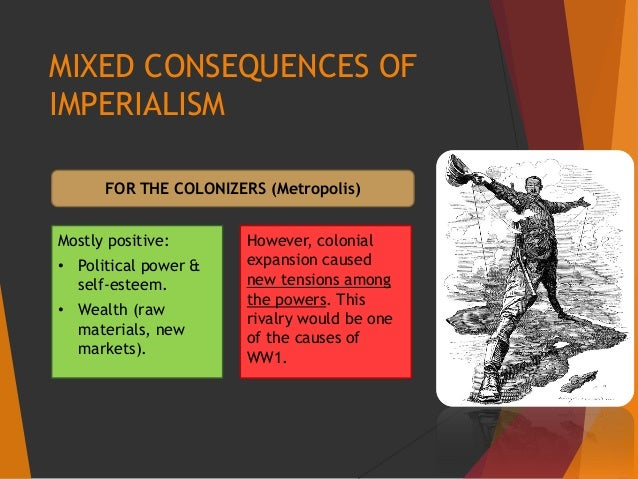 effects of imperialism in ww1