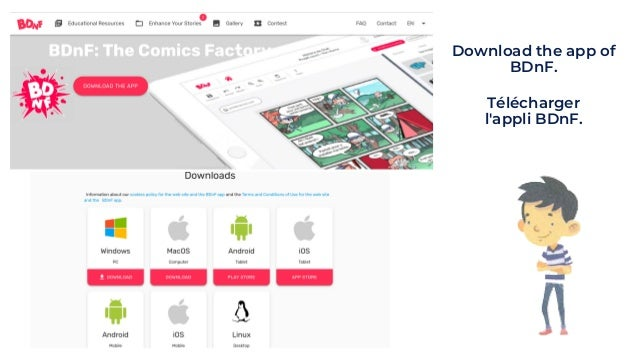 Download the app of BDnF. Télécharger l'appli BDnF.